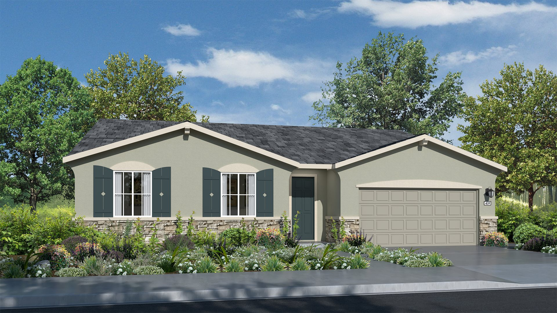 Whispering Hills at Saddle Point - Residence Four C Exterior