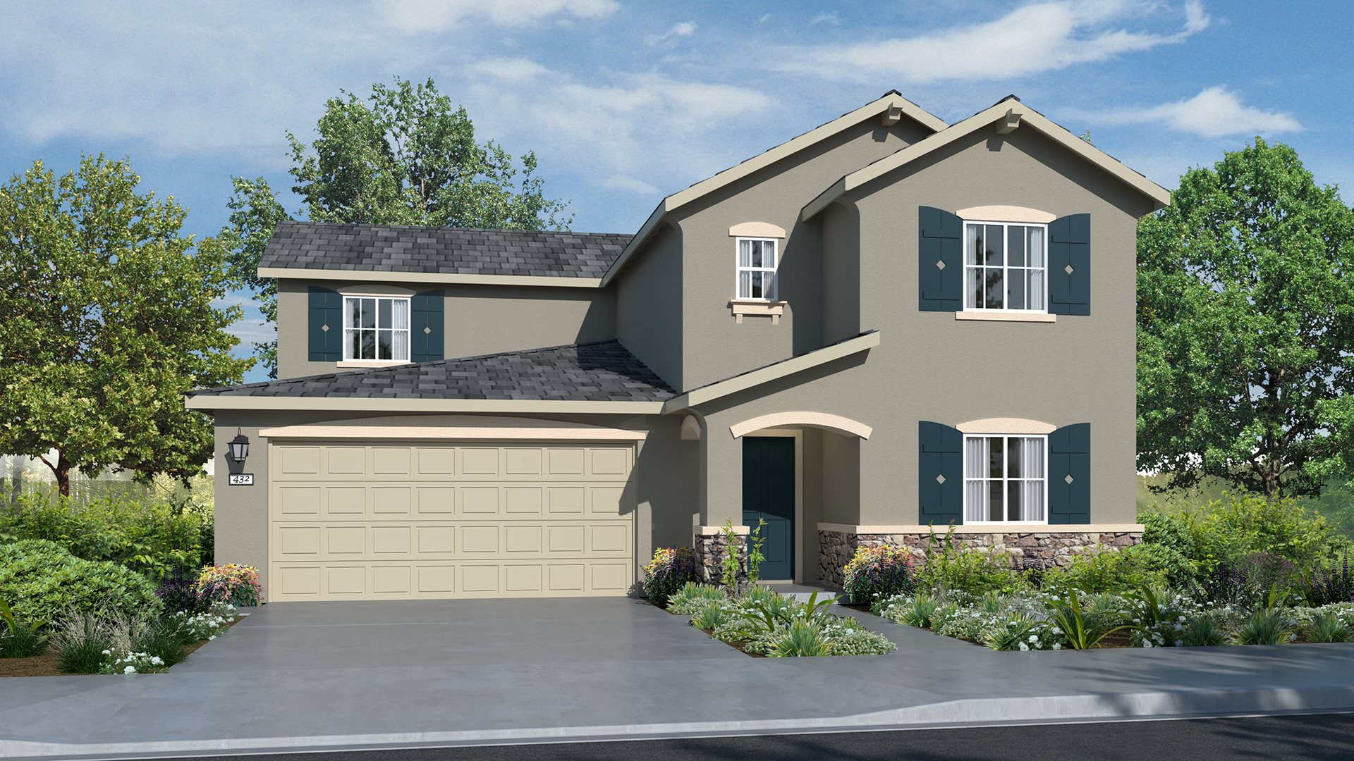 Bridle Walk at Saddle Point - Residence Two C Exterior