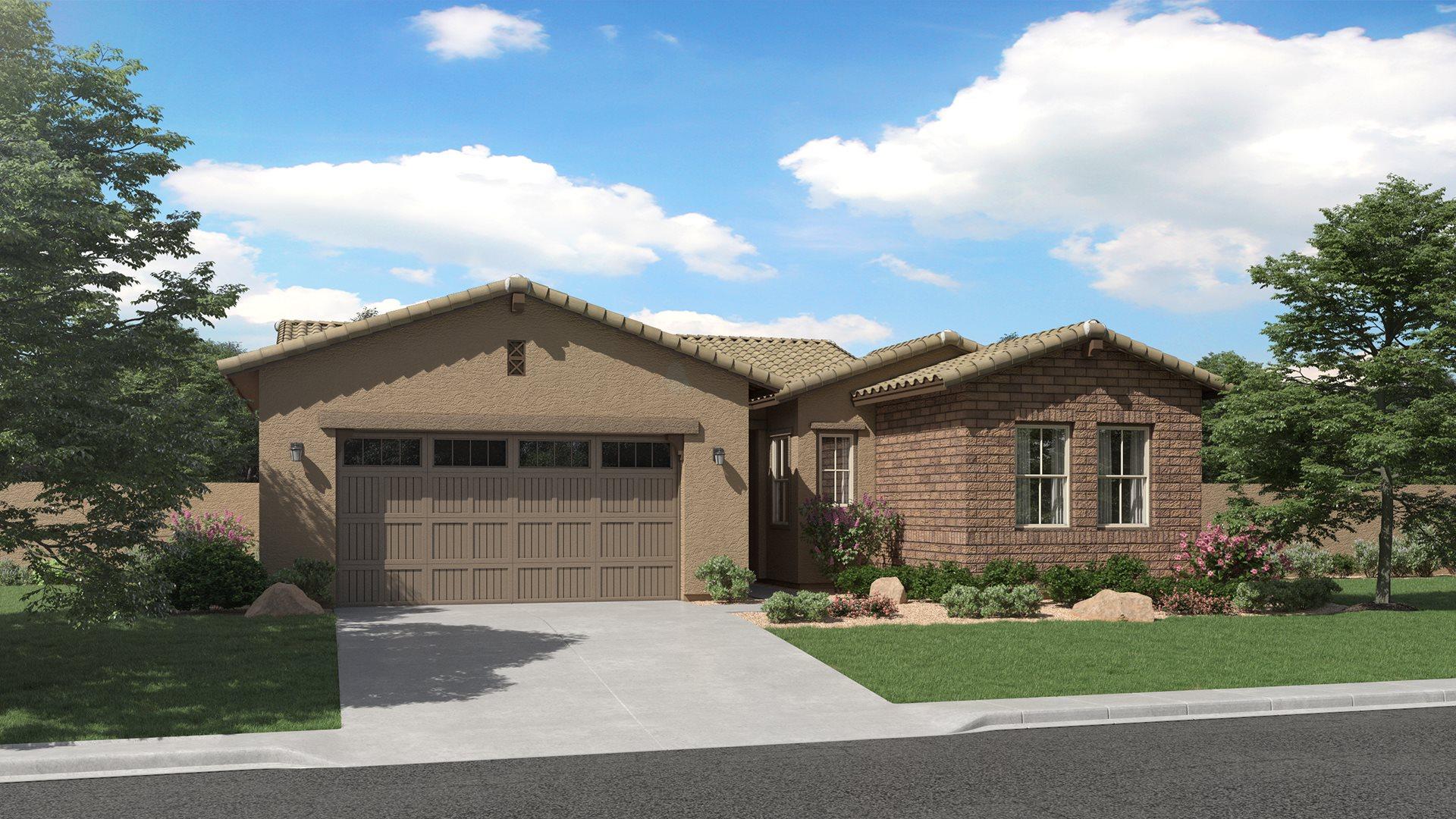 Aspen Plan 4578 H Ranch Hacienda