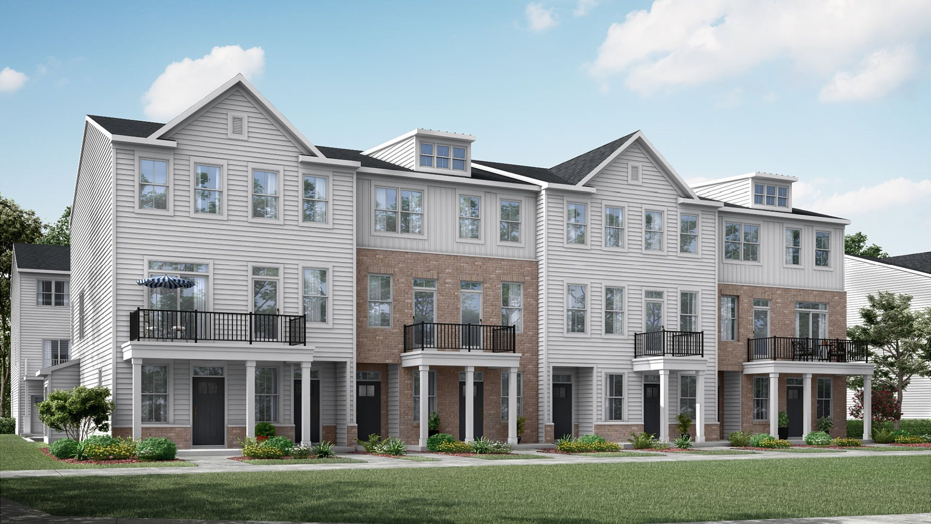 Traditional exterior rendering of Halifax