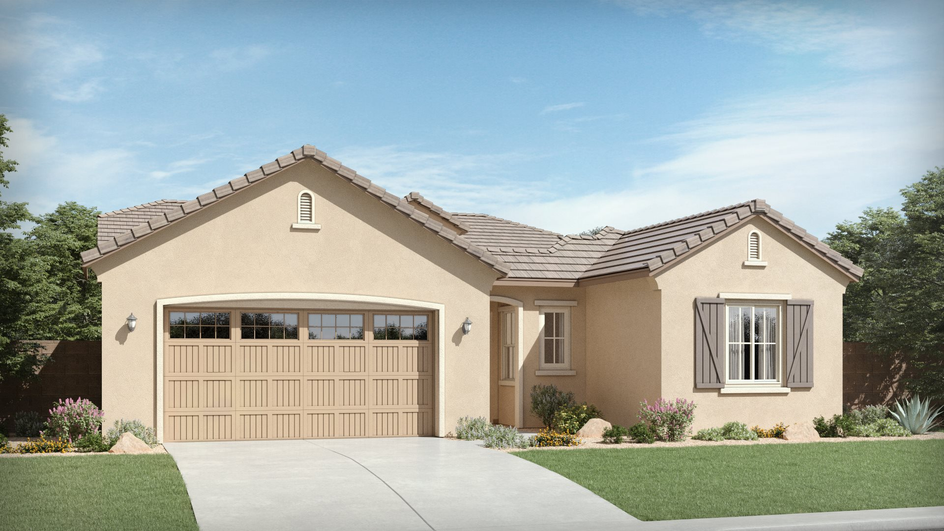 Aspen Plan 4578 F French Country