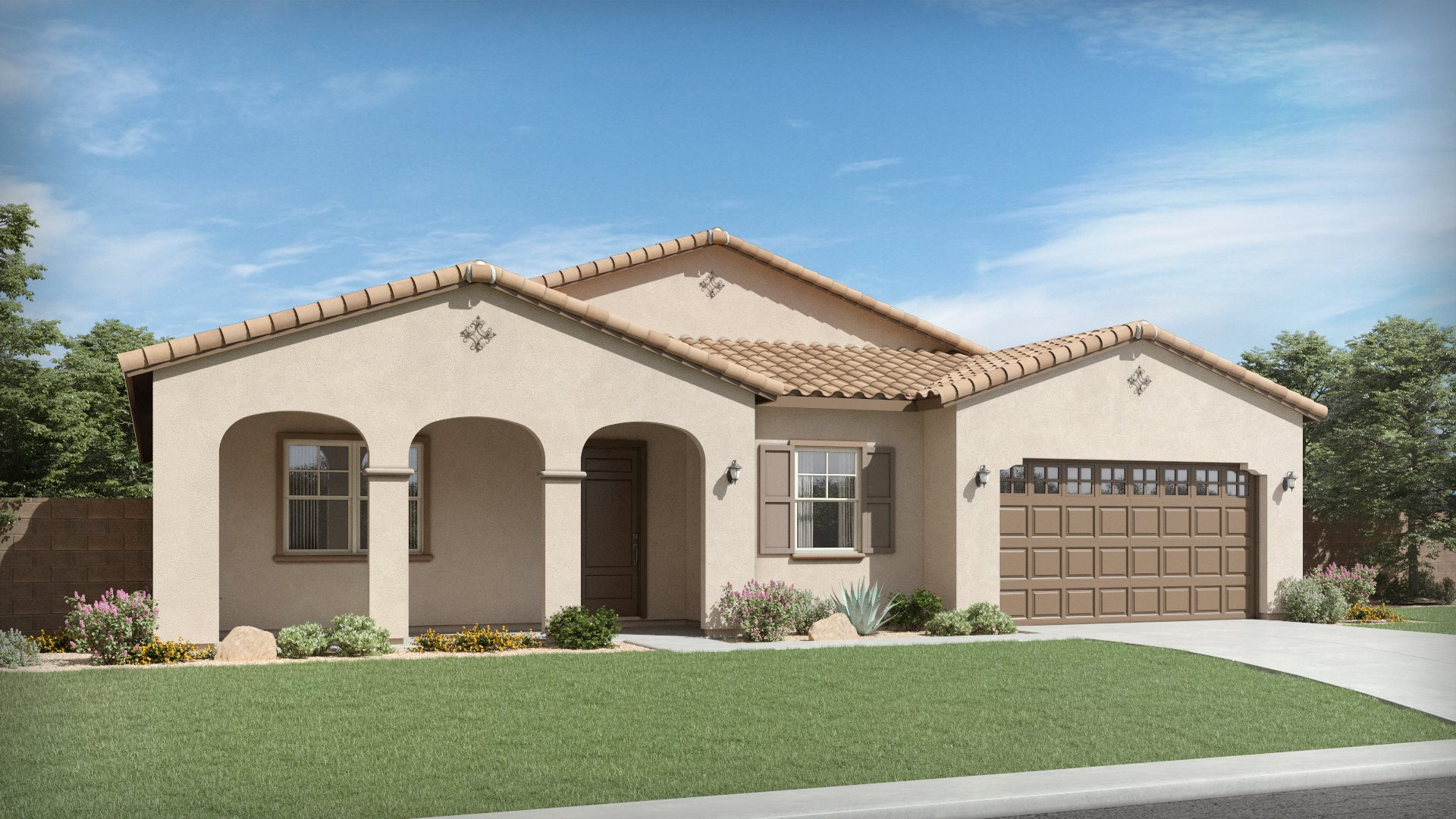 Willow Plan 5574 A Spanish Colonial