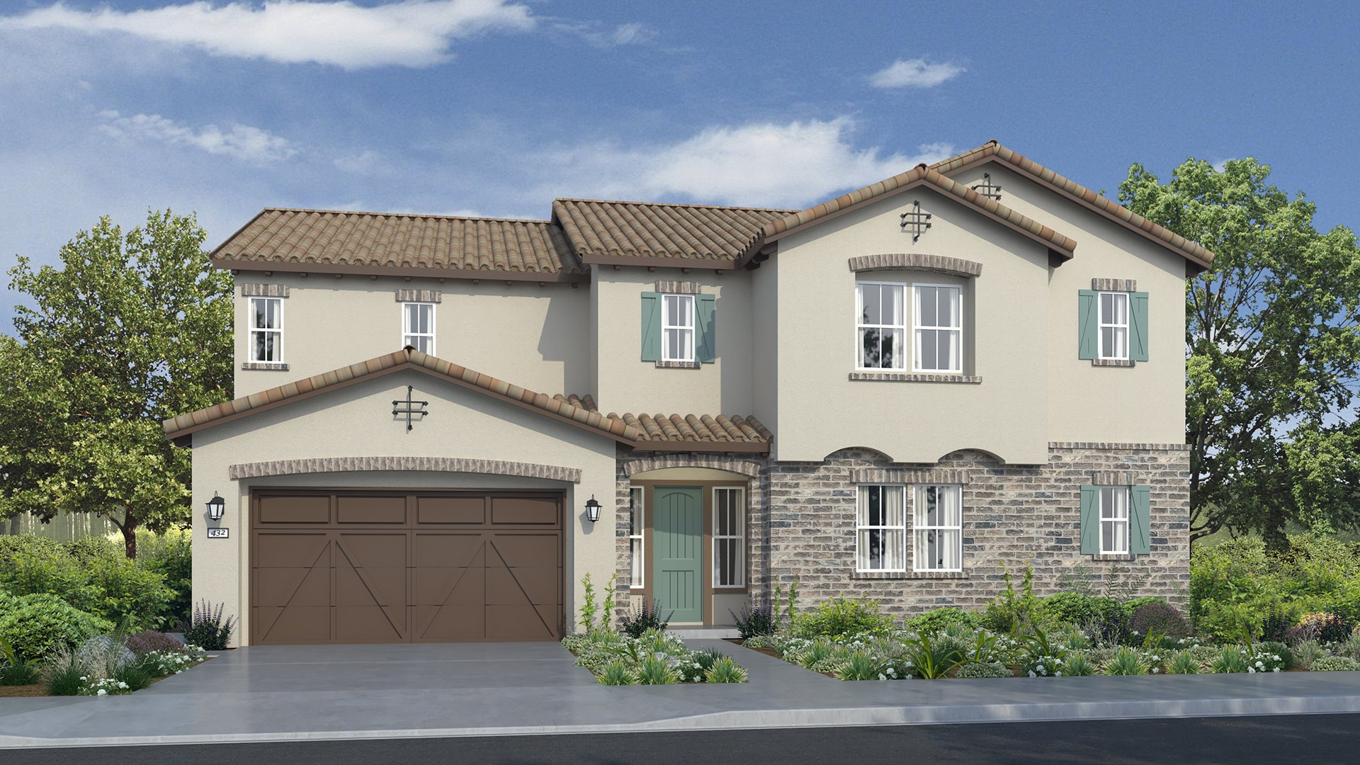 Residence 4041 | Elevation A