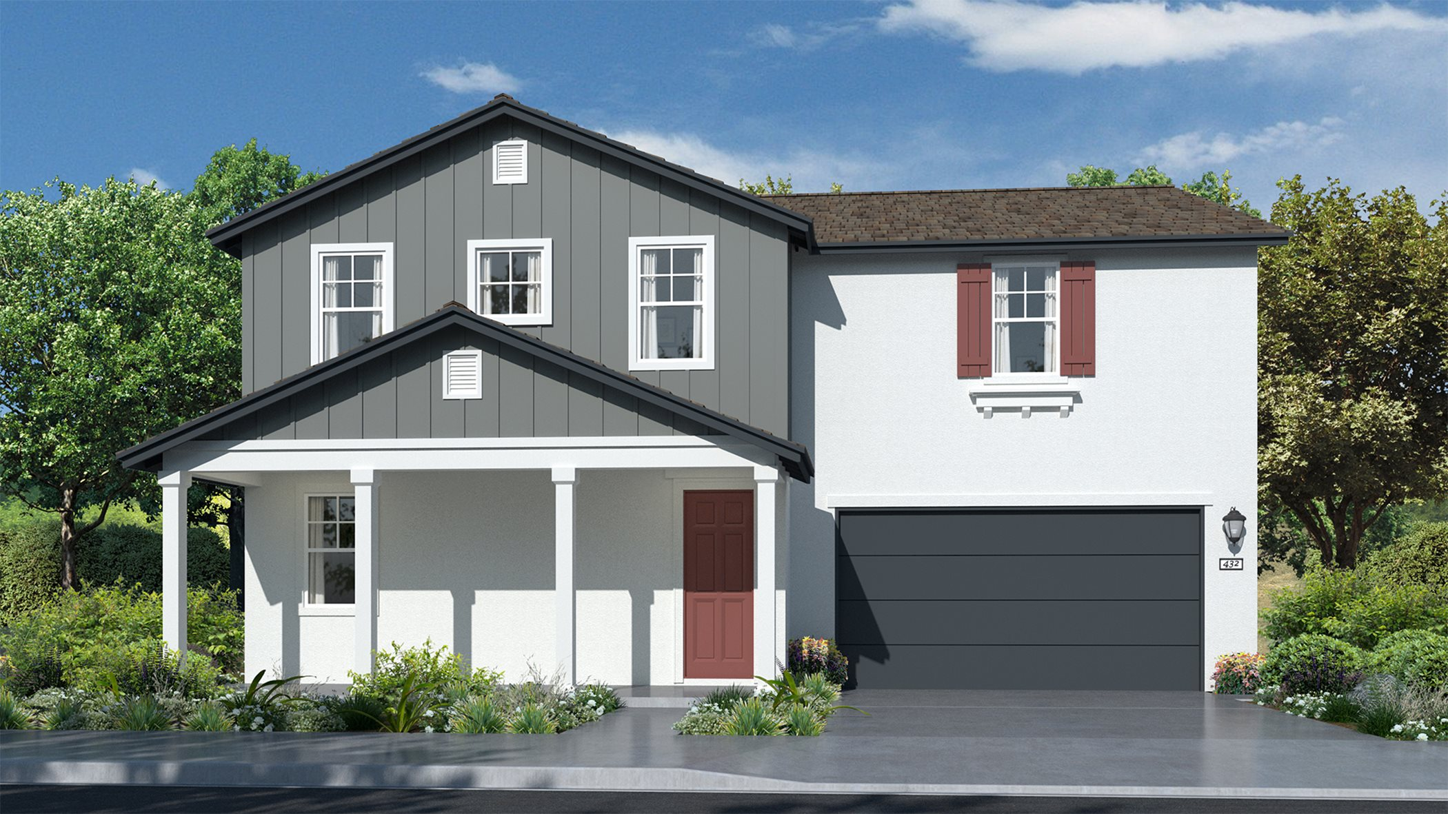 Residence 3028   Elevation A