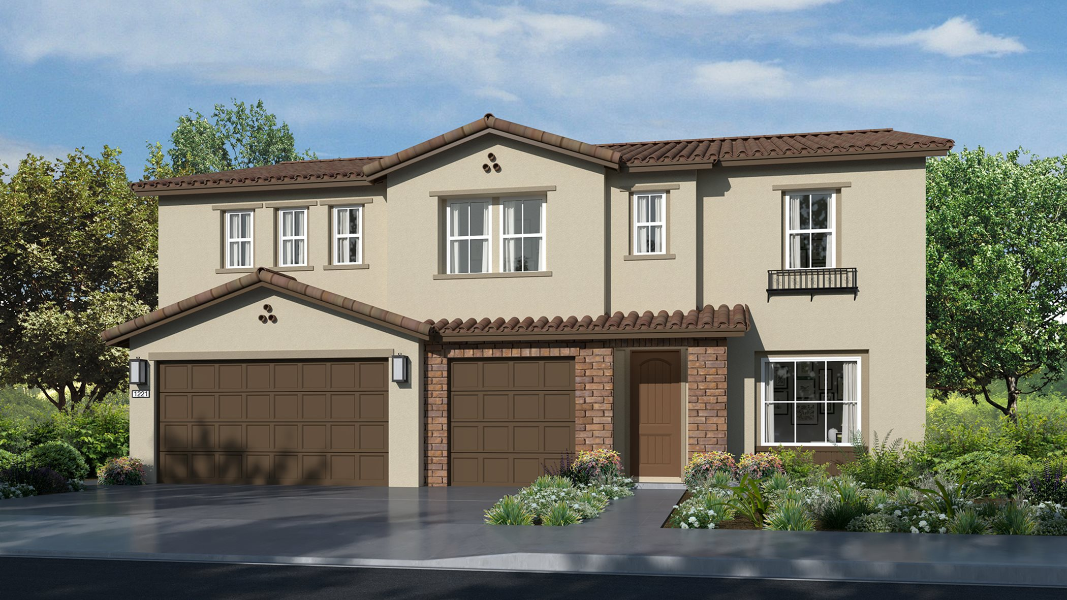 Residence 3447 | Elevation A