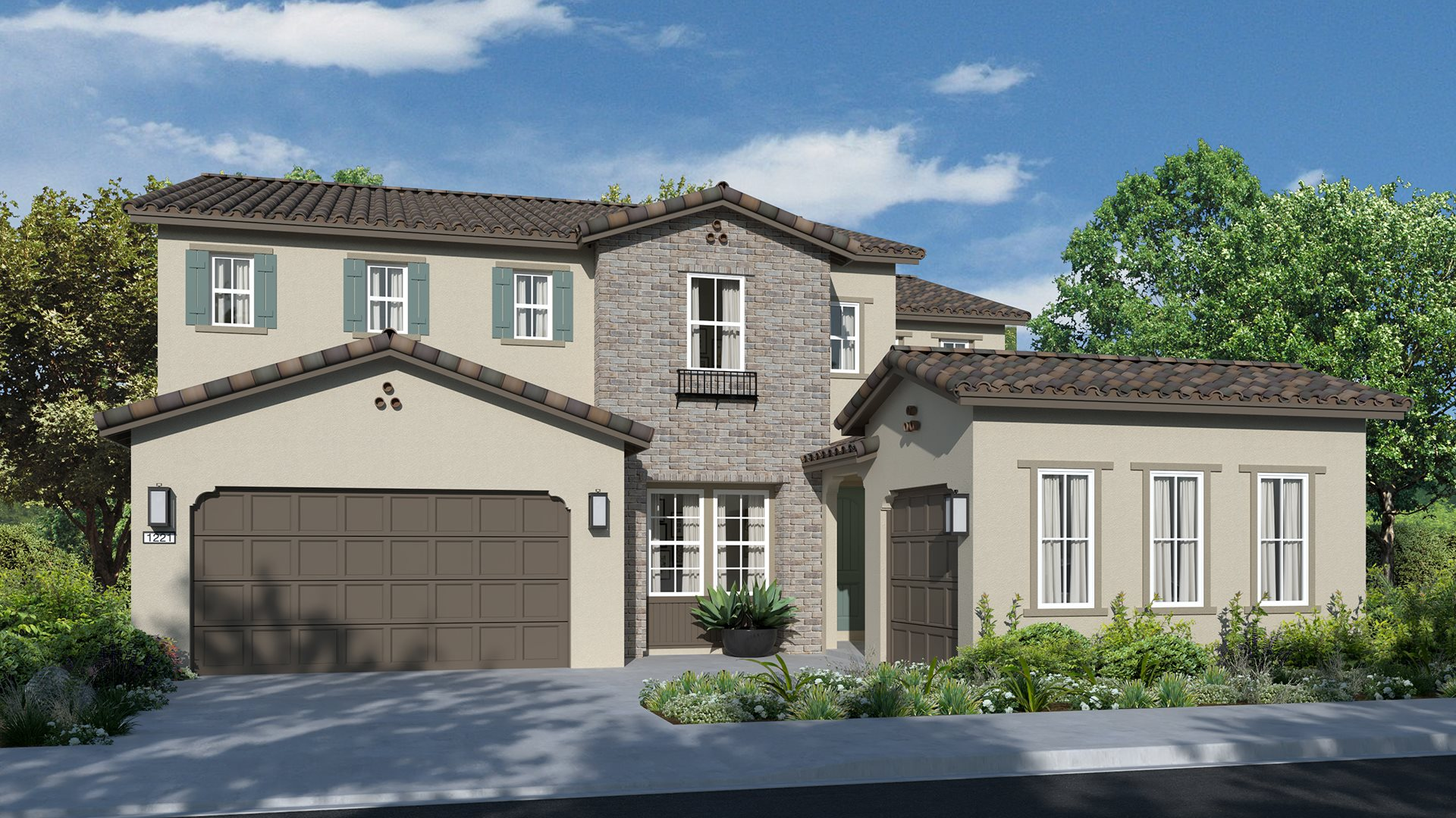 Residence 3773   Elevation A