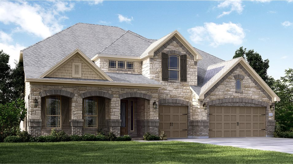 Wildwood at Northpointe Classic and Wentworth Collection New Haven II Exterior B