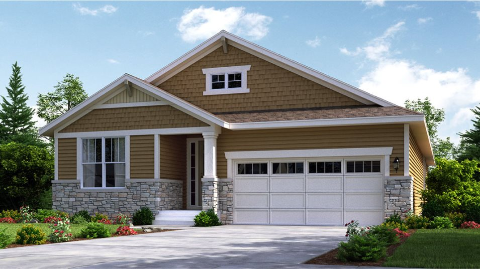 Orchard Farms The Monarch Collection Springdale Exterior Craftsman