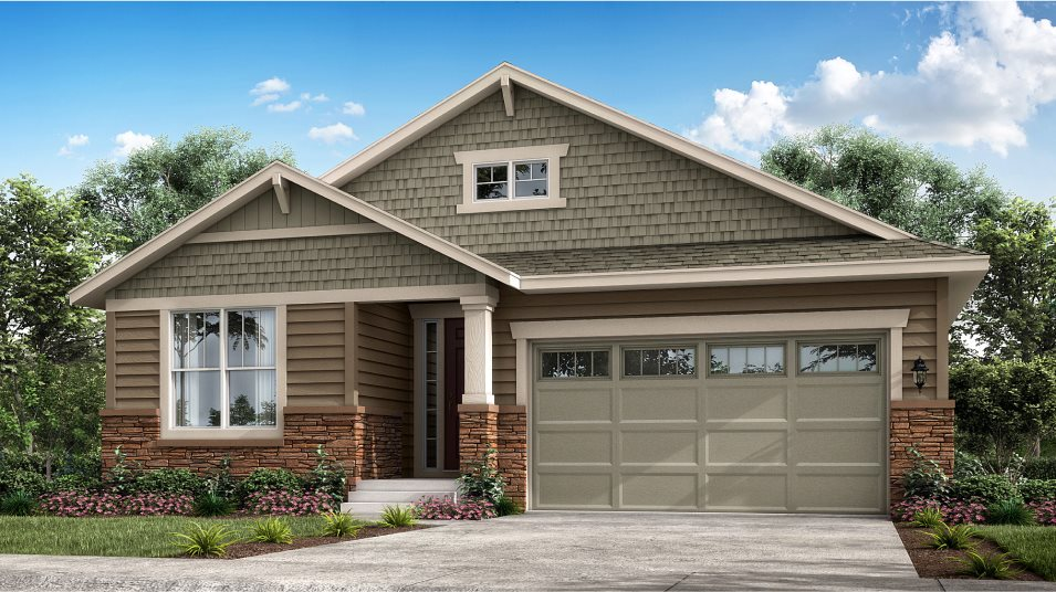 Heritage Todd Creek The Masters Collection Ascott Exterior Craftsman