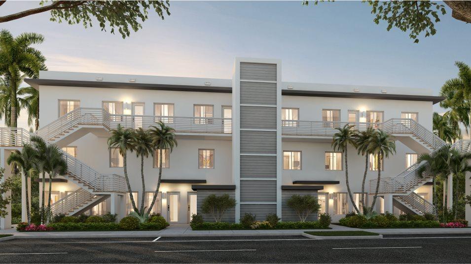 Landmark Condominiums Model F Exterior A
