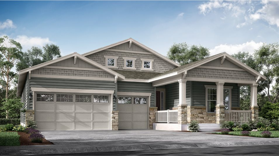 Heritage Todd Creek The Heritage Collection Redford Craftsman