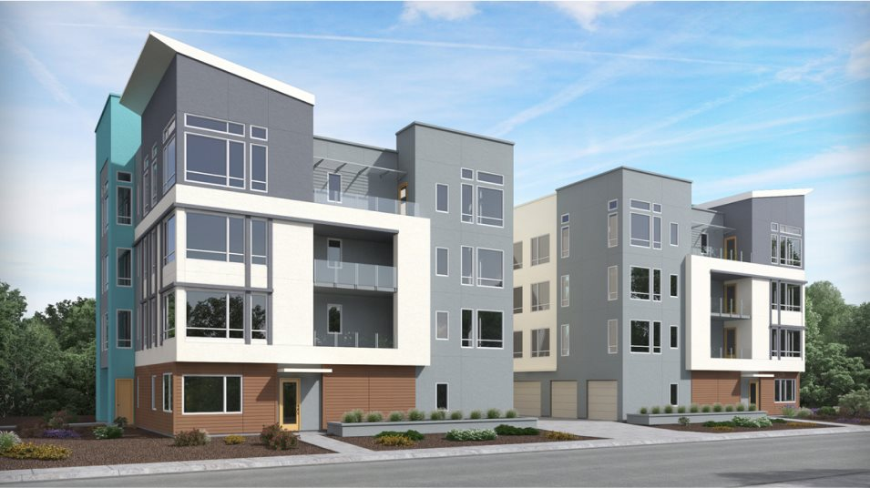 Foster Square Avery Residence D Exterior