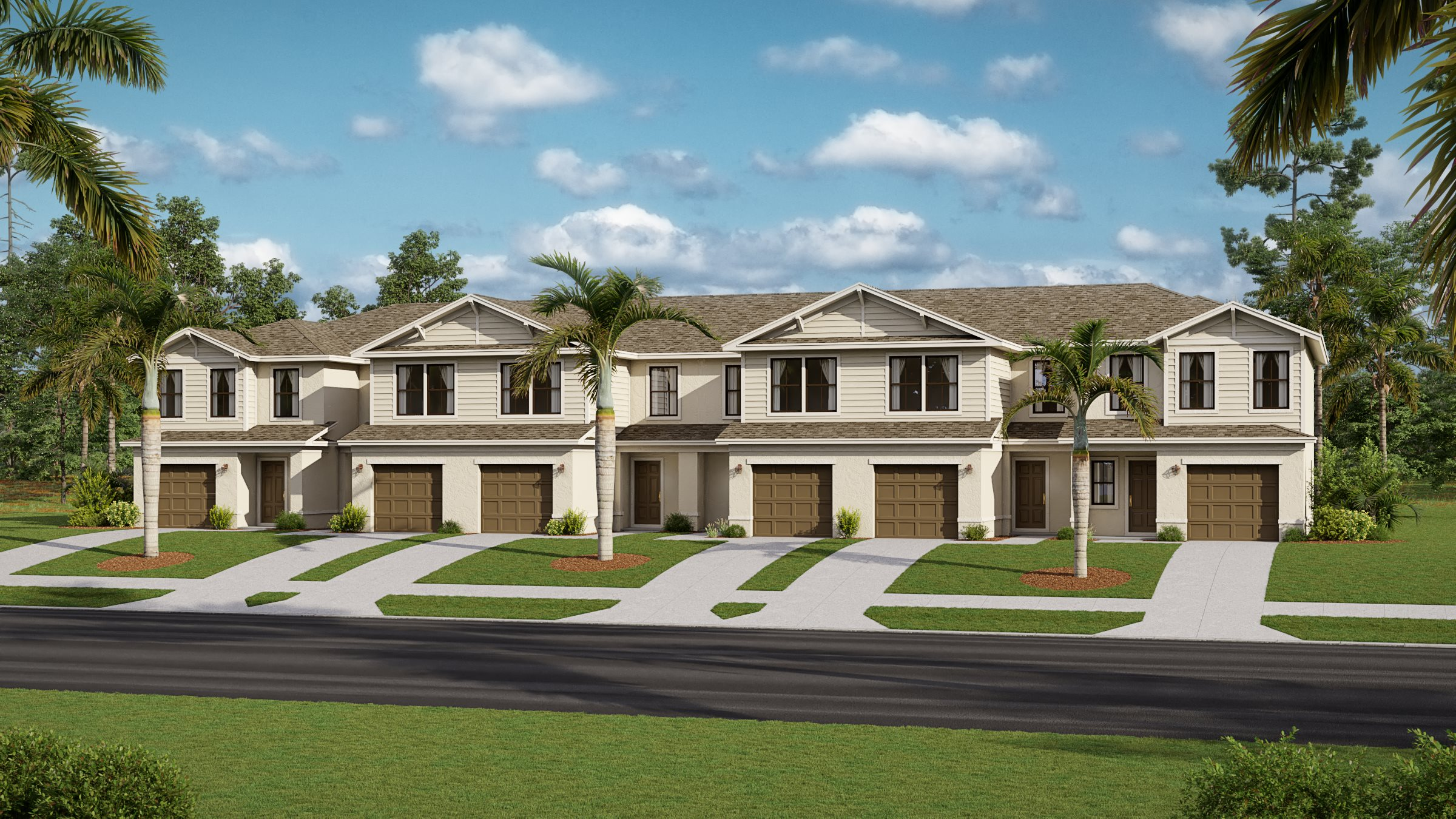 Portico Townhomes Avery Townhomes