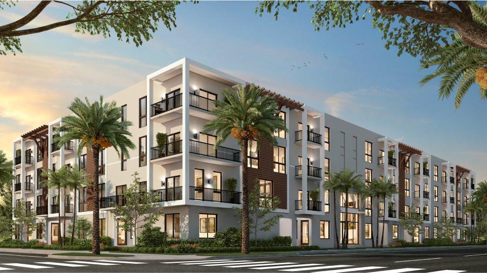 Urbana Midrise Condominium Residences Model MH Kitchen Exterior name