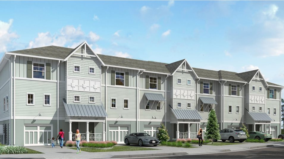 Lost Key Townhomes 3BR Townhome Exterior A