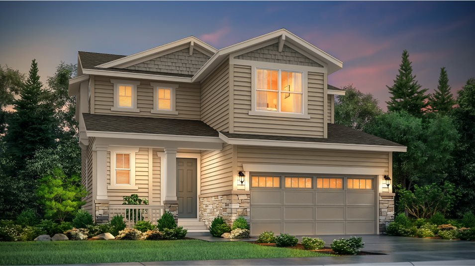 Buffalo Highlands The Pioneer Collection Sherman Craftsman Elevation B
