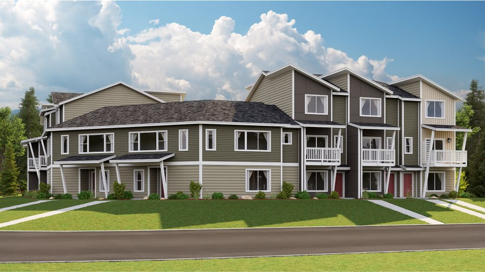 Emerald Pointe Townhomes Ellen Traditional