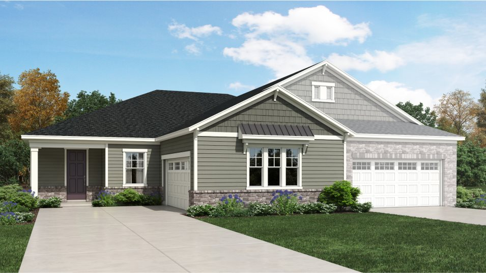 Auburn Village Amber Collection Victor Exterior A