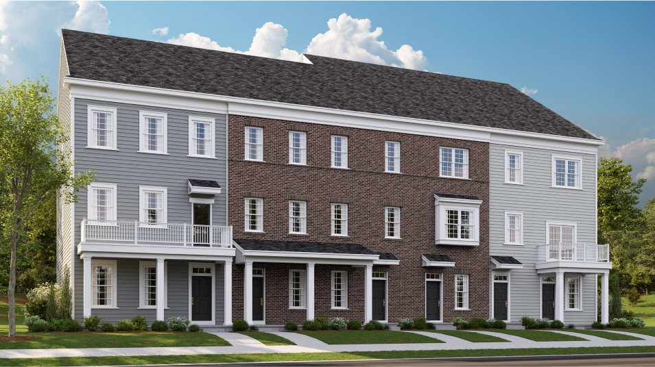 Waterside-By-Lennar Waterside Contemporary Towns Delaware A