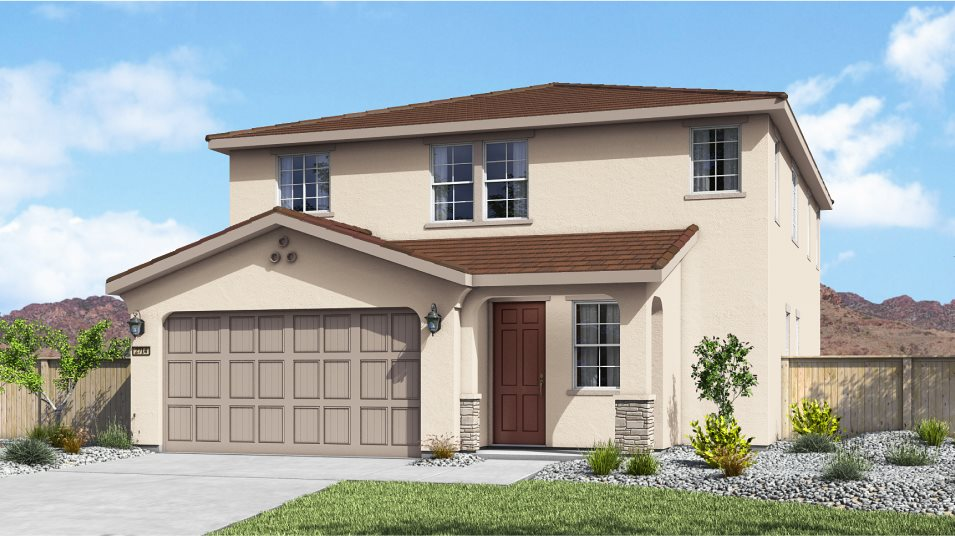 Willow Flats at Kiley Ranch The Babette Exterior A