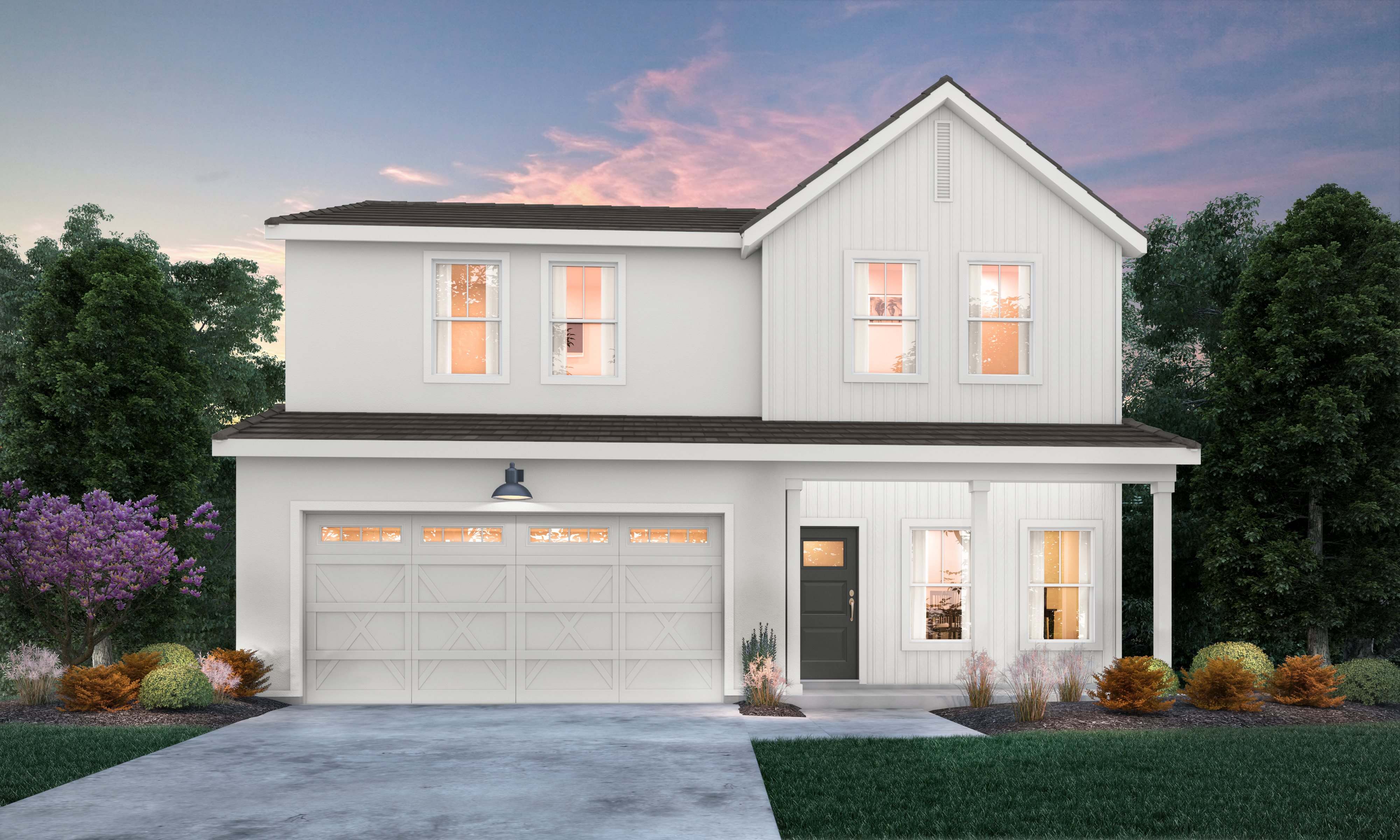 The Ranch at Heritage Grove Clementine Series Dewberry Exterior A