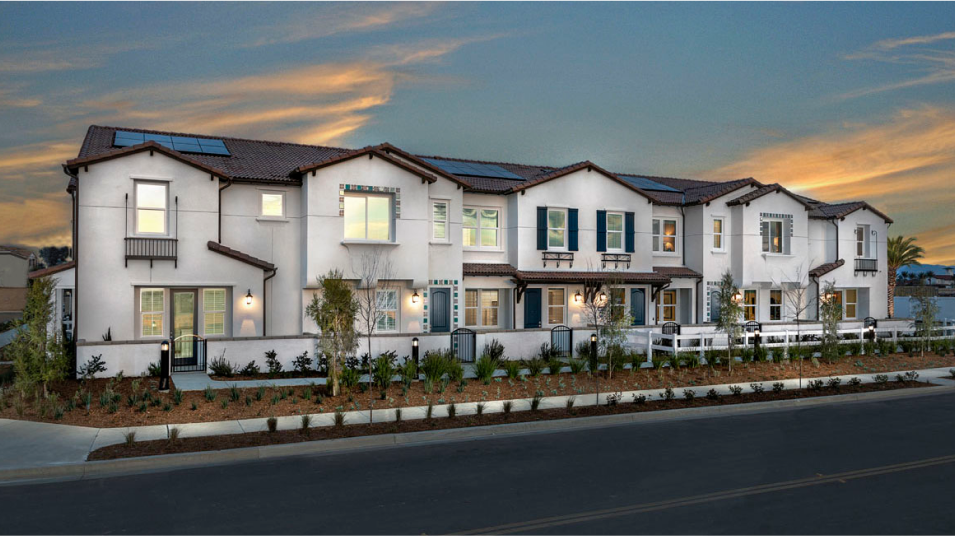 Menifee Town Center The Townes Residence 3 Exterior A