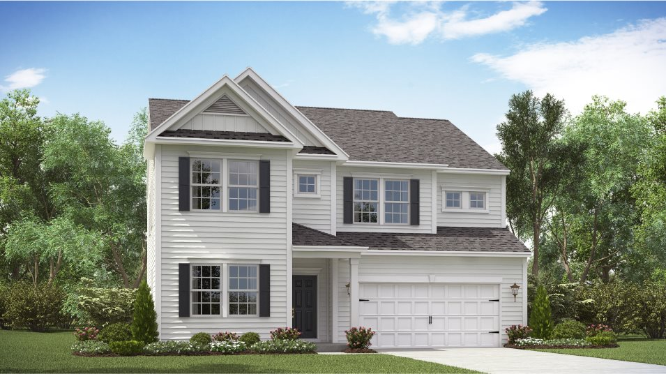 Lindera Preserve at Cane Bay Plantation Arbor Collection Phase 6 Georgetown Elevation A