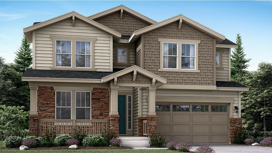 The Monarch Collection at Willow Bend Chelton Craftsman