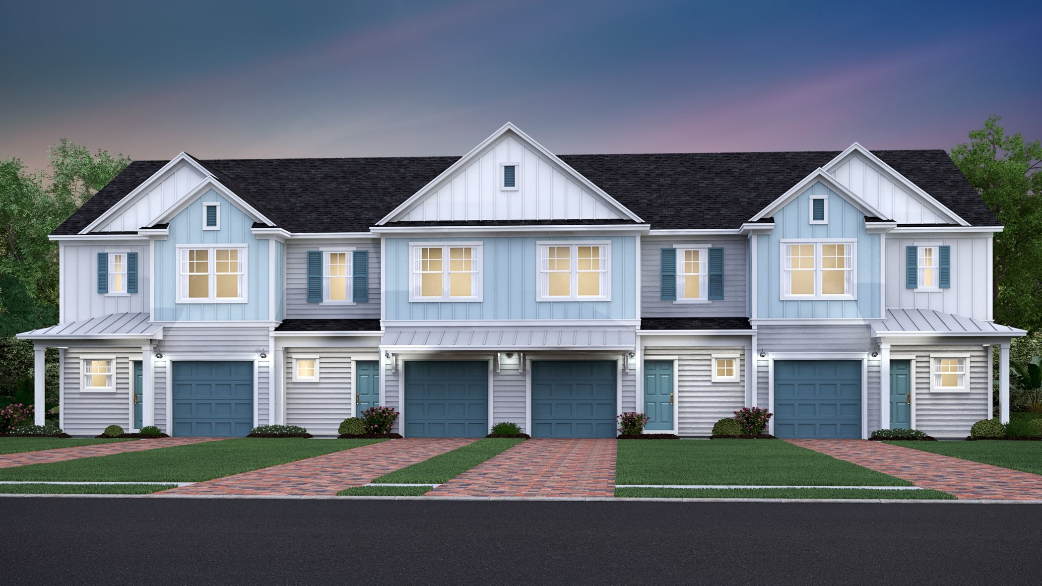 Shearwater Exterior 4-Unit CP