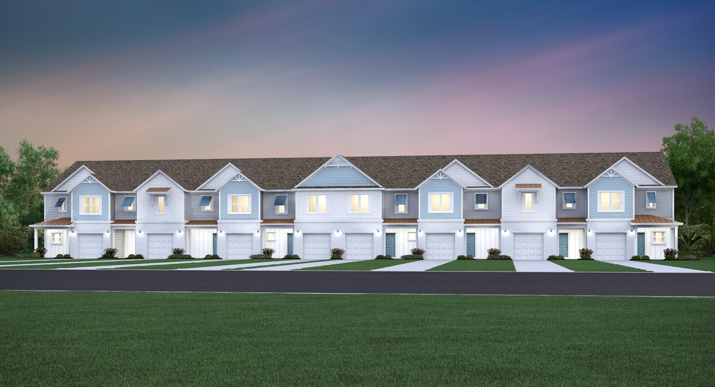 Shearwater 8 Unit Elevation CP