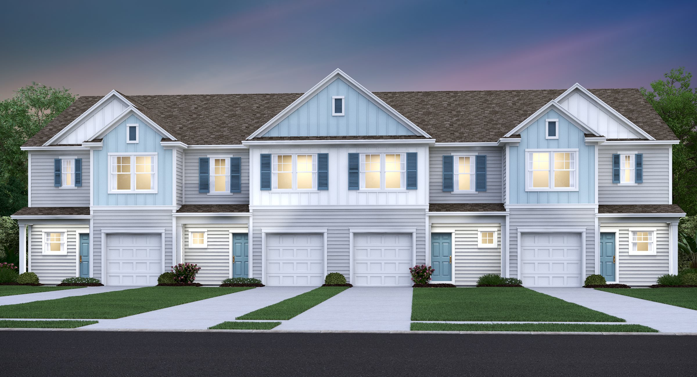 Longleaf Longleaf Townhome Collection Windley A
