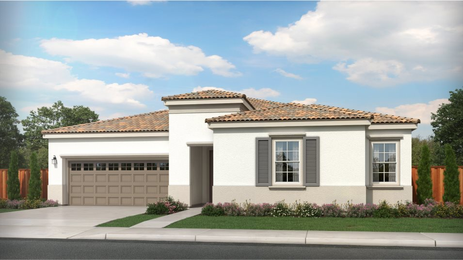 Tracy Hills Pearl Residence 1 Mediterranean Revival