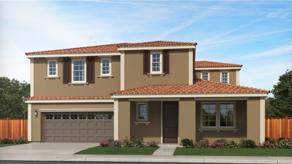 Tracy Hills Pearl Residence 2 Mediterranean Revival