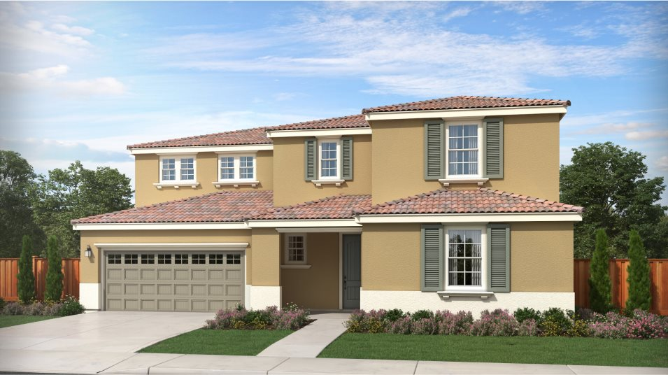 Tracy Hills Pearl Residence 3 Mediterranean Revival