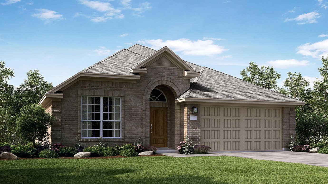Bayou Lakes Brookstone and Wildflower Collections Lantana Elevation