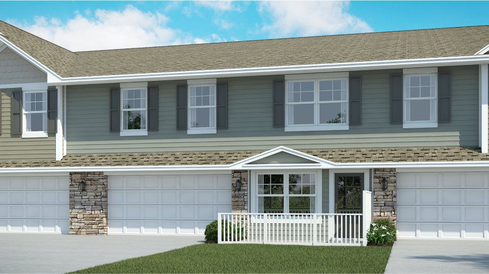 Highlands of Falmoor Glen Colonial Manor Collection Revere EI Exterior