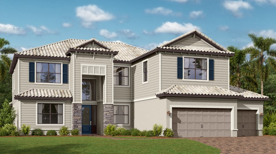 Lorraine Lakes Estate Homes National Elevation DS