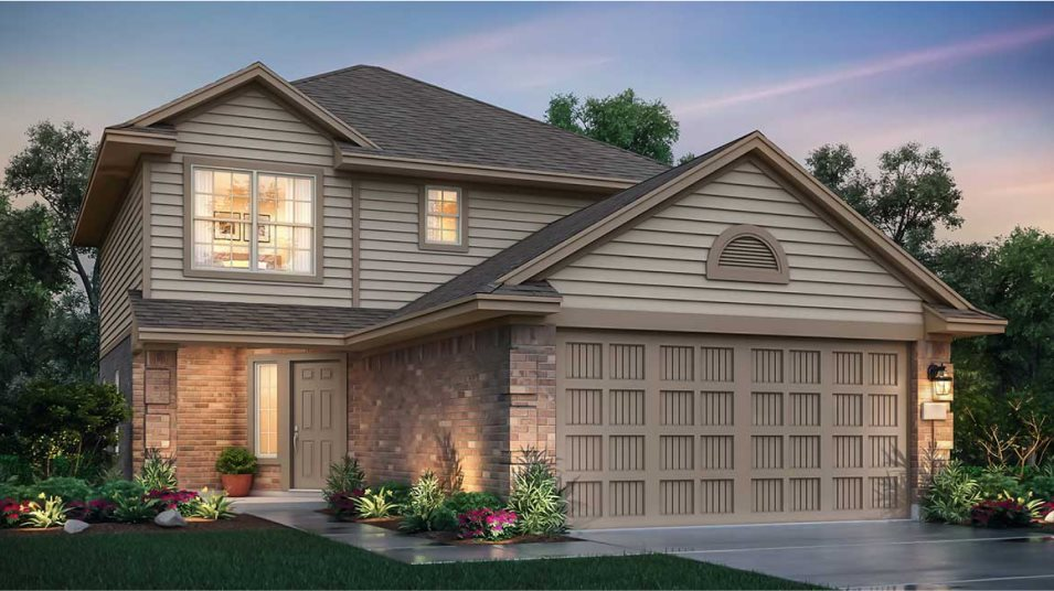 Wooster Trails at Baytown Crossings nuHome Collection Los Fresnos Exterior A