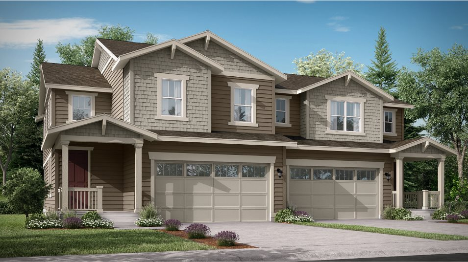 Palisade Park Paired Homes Lucent- Left Craftsman