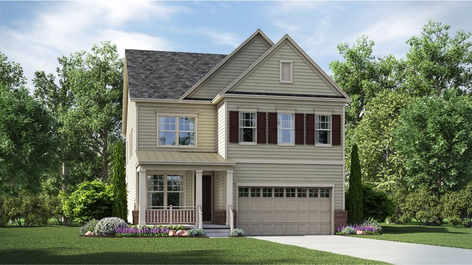 The Chase at Quince Orchard Single Family Homes Lorton Traditional Siding