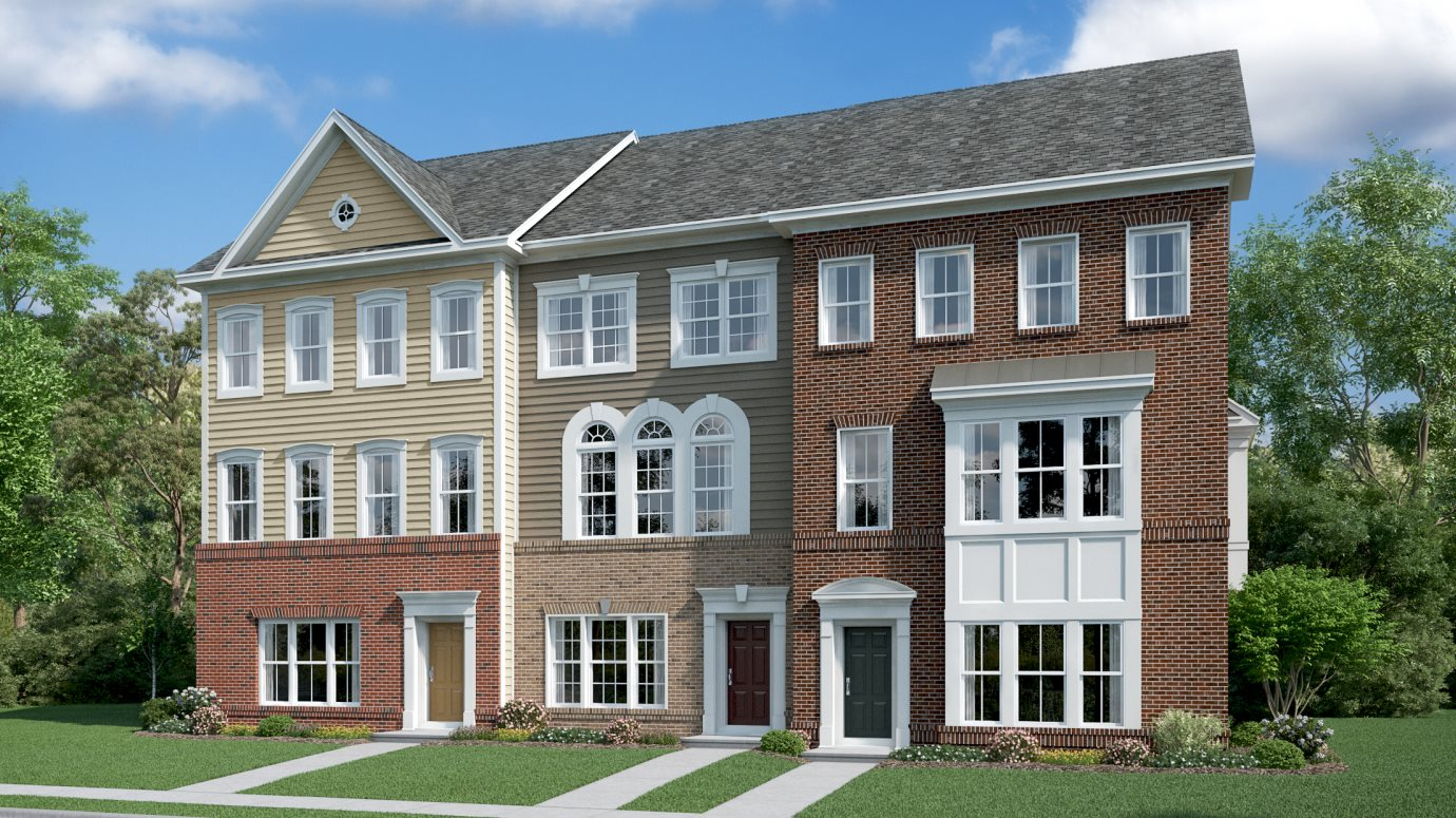 The Chase at Quince Orchard Townhomes Cambridge