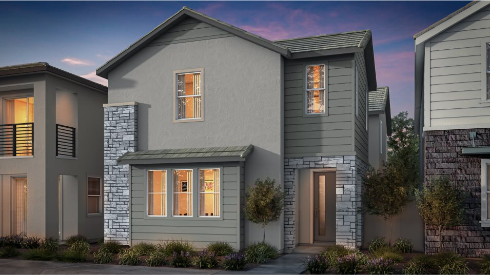 Great Park Neighborhoods Adagio II at Rise Residence 2 Abstract Traditional