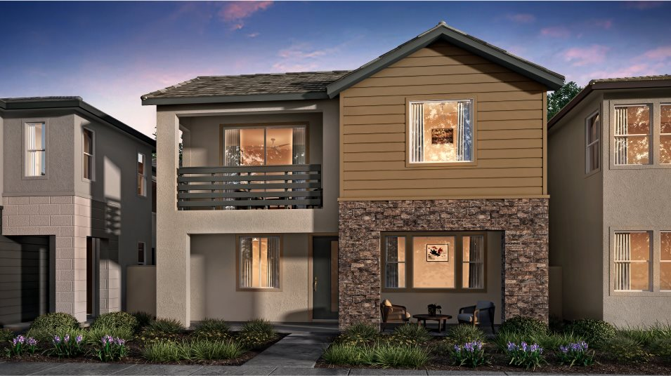 Great Park Neighborhoods Adagio II at Rise Residence 3 AbstractTraditional