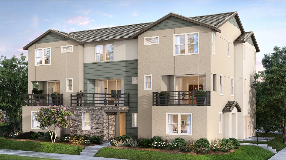 Great Park Neighborhoods Bolero at Rise Residence 1 Abstract Traditional