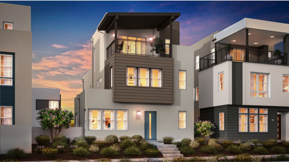 Great Park Neighborhoods Montair at Rise Residence 1 Transitional