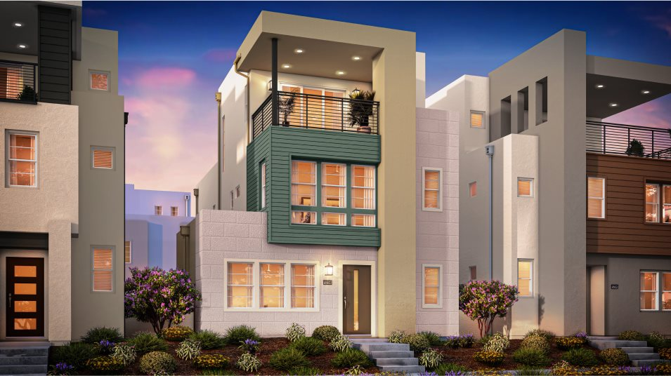 Great Park Neighborhoods Montair at Rise Residence 1 Contemporary