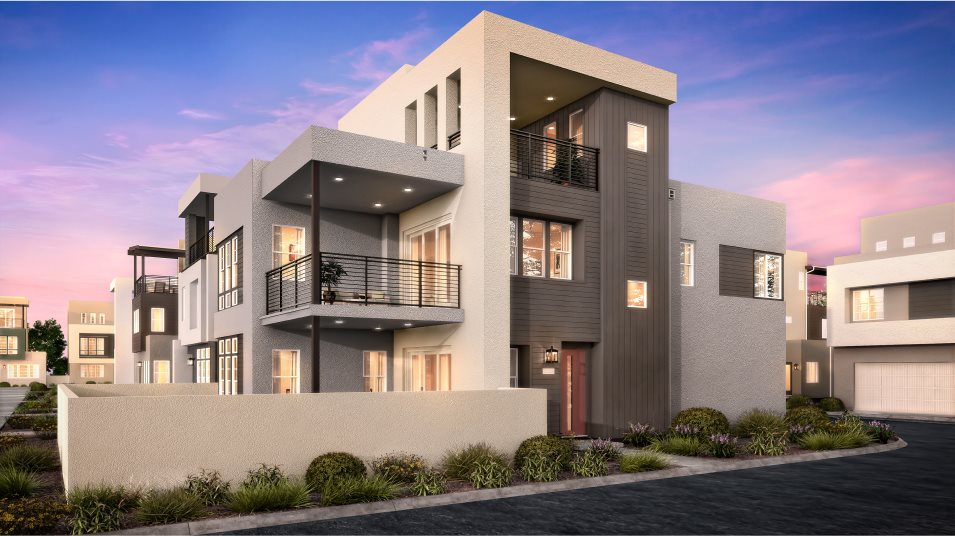 Great Park Neighborhoods Montair at Rise Residence 2 Transitional A