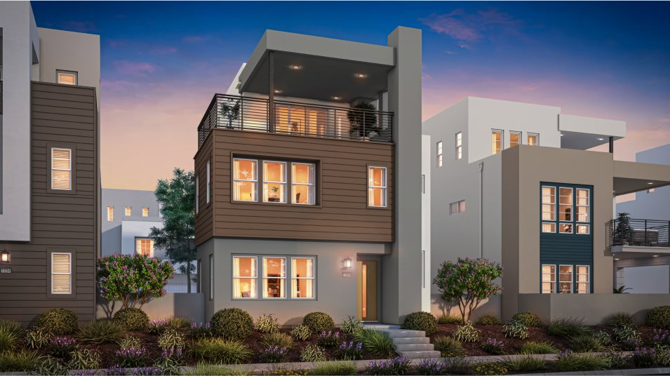 Great Park Neighborhoods Montair at Rise Residence 3 Transitional