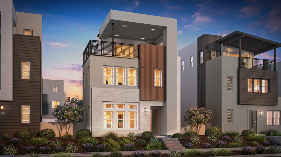 Great Park Neighborhoods Montair at Rise Residence 3 Contemporary