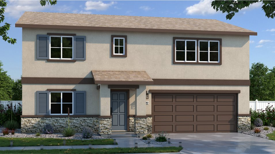 Peavine Trails at Stonefield The Carnelian Exterior B